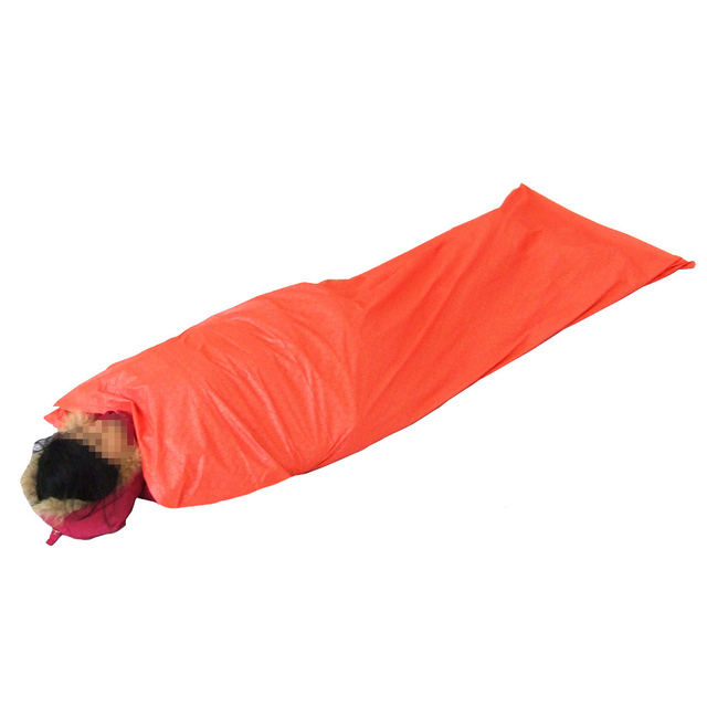 Outdoor Sleeping Bag Polyester Pongee Portable Single Camping Travel