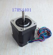 free shipping 4-lead Nema17 Stepper Motor 42 motor NEMA 17 motor 42BYGH 1.7A (17HS4401) use for 3D printer and CNC