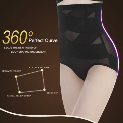 Hirigin 2017 Women Antibacterial Underwear Body Shaper Control Slim Tummy Corset High Waist Shapewear Panty Underwear Plus Size