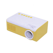 Digital multimedia 600 lumens LED portable mini projector Travel Home Projector for Cell Phone TV Cinema HD 1080p cheap Manual Correction HML2010 0 6m-2m None 320*240 4 3 16 9 Led Light Throwing Back Projection AODIAN 500 1 240g 20-60