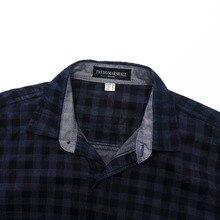New Arrival Men's Long Sleeve Plaid Shirt