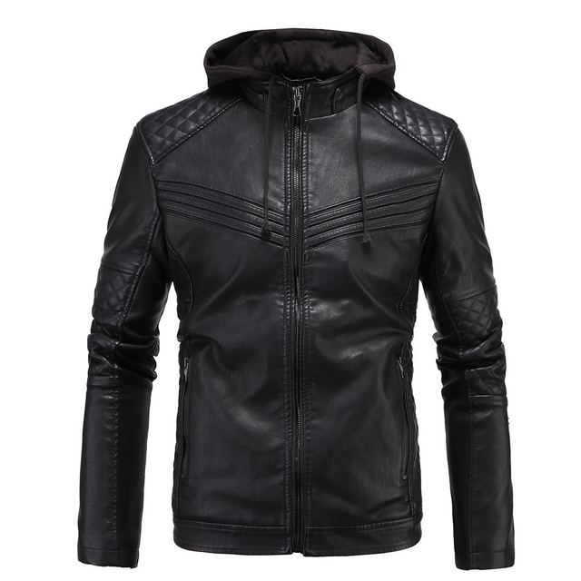 Autumn And Winter Models Of Pineapple Pattern Quilted Men Jacket ... : leather quilted jacket men - Adamdwight.com