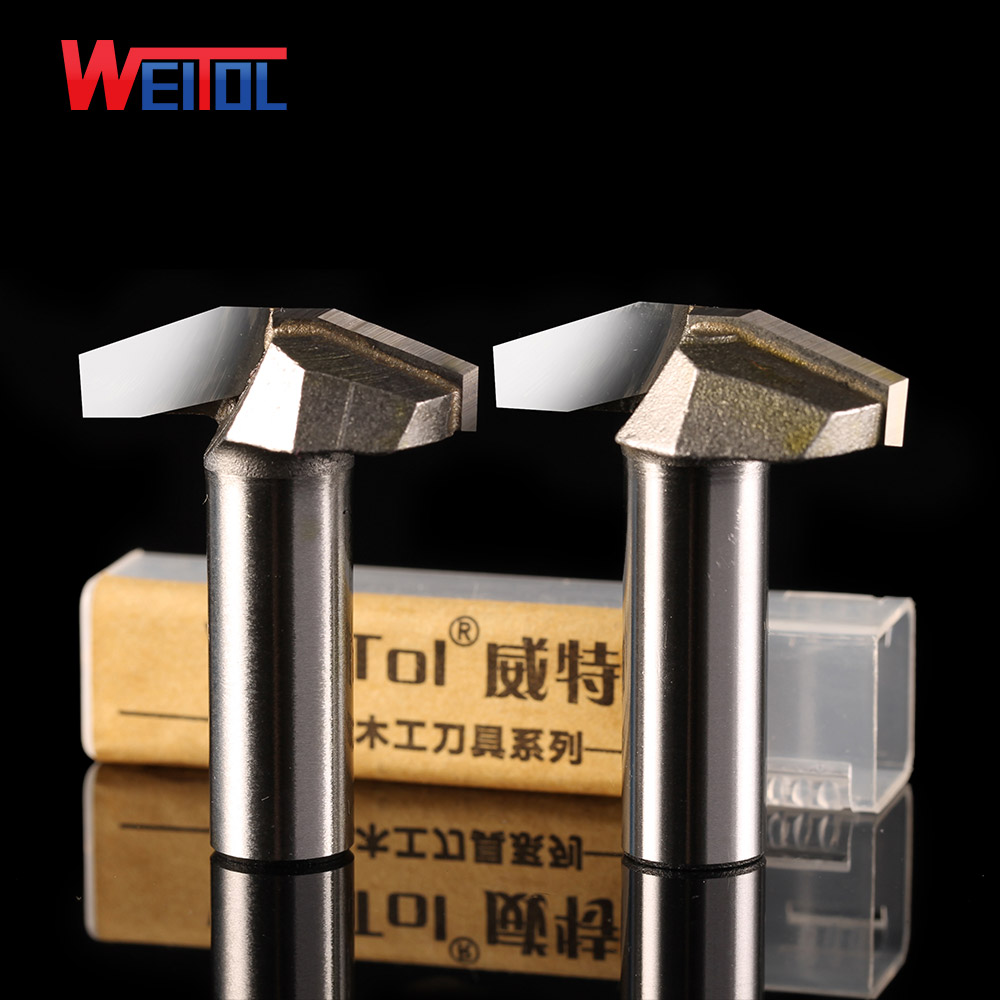 Weitol 1pcs 1/2 inch Woodworking Cutter Double Edging Router Bits for wood carbide 20 degree Clear bottom V type wood board bit high grade carbide alloy 1 2 shank 2 1 4 dia bottom cleaning router bit woodworking milling cutter for mdf wood 55mm mayitr