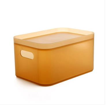 Cosmetics Storage boxes electronic Frosted color furniture cosmetics Storage bins stackable content box with a free cover-in Storage Boxes u0026 Bins from Home ...  sc 1 st  AliExpress.com & Cosmetics Storage boxes electronic Frosted color furniture cosmetics ...