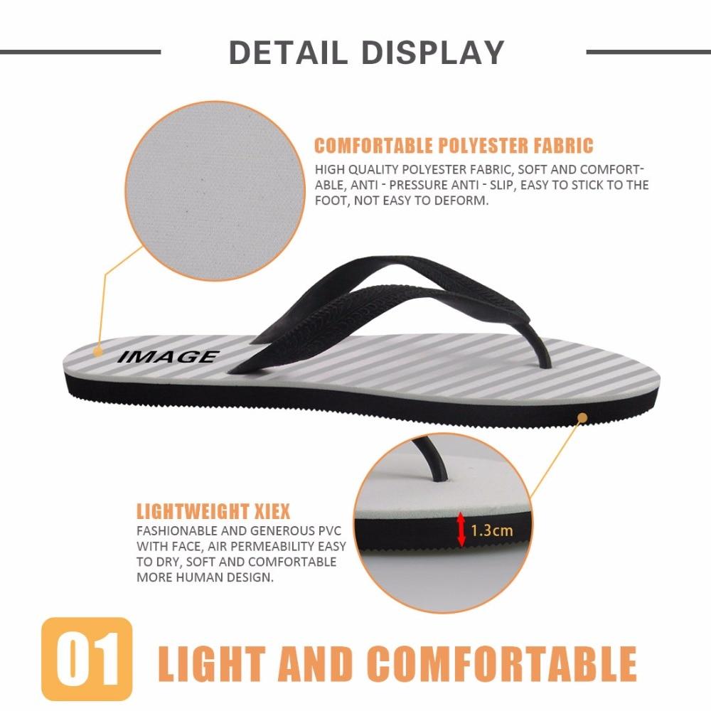 FORUDESIGNS 2018 Moda Verano Playa Chanclas Mujer Zapatillas Lindo 3D - Zapatos de mujer - foto 3