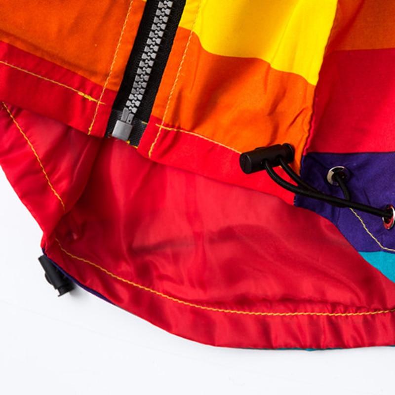 Baby Girl Jacket Boy Hooded Coat Solskyddsmedel Kläder Rainbow - Barnkläder - Foto 6
