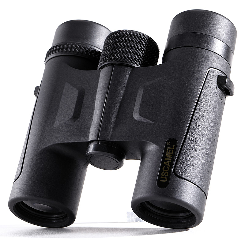 Фотография USCAMEL HD 10x26 Binoculars Compact  Powerful Zoom Long Range Professional Waterproof Folding Telescope Outdoor Hunting