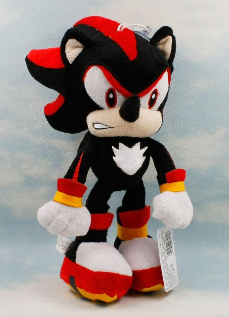 29cm Sonic the Hedgehog Shadow Plush Figure Doll SEGA