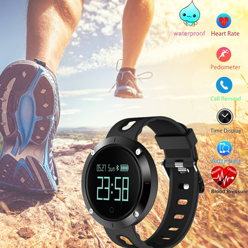 New Bluetooth Sports smartband Wristband Heart Rate Smart Band Blood Pressure Monitor Heart Rate smart bracelet PK mi band 2#C0