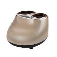 Электрический Вибратор массажер для ног полностью обернутый массажное устройство для ног оздоровительный массаж Инфракрасная тепловая терапия массаж шиацу