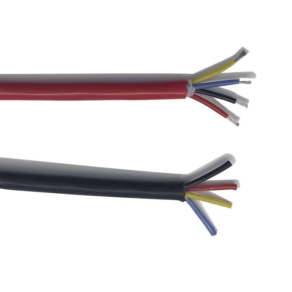 fio elastico super macio 4 nucleos 1 5 pracas 4 oleo resistencia de dobramento de proteccao
