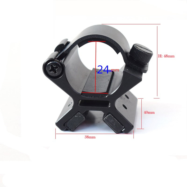 Aperture 24-26.5mm Type X Magnetic Tactical Flashlight Gun Mount Holder bike Accessories For Led Flashlight Torch Lanterna