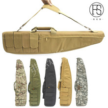 Tacitcal Military 118cm Oxford Carry Bag Waterproof Outdoor Hunting War game Airsoft Gun Bag Rifle Case Shoulder Pouch Backpack tacitcal military men 120x30cm oxford carry bag waterproof outdoor hunting airsoft gun bag rifle case shoulder pouch backpack