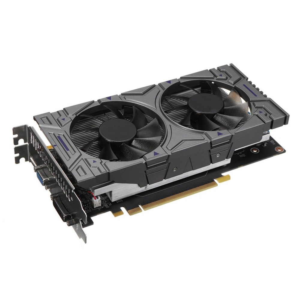 Professional GTX 1050 2GB GDDR5 128Bit VGA DVI HDMI Graphics Card With Cooling Fan Suitable For NVIDIA GeForce 520w cooling capacity fridge compressor r134a suitable for supermaket cooling equipment