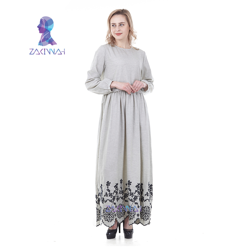 ZK019 Women Muslim Abaya Kaftan Turkish Islamic Clothing Dubai Moroccan Kaftan Maxi Dress Turkish Kaftan Turkey Arab Robe
