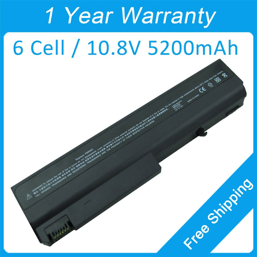 5200mah laptop battery HSTNN MB05 HSTNN XB28 PQ457AV EQ441AV for hp NX6300 NX6140 NC6100 NC6105 NC6110 6710s 6715b 6910P