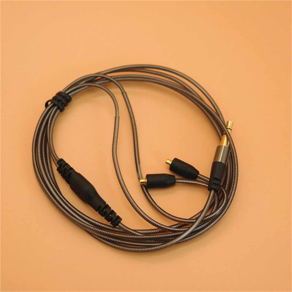 3.5mm kabel do słuchawek dla Shure/słuchawki SE215 315 425 535 846 DIY wymiana słuchawki 14 rdzeni