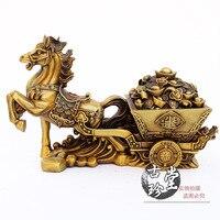 Металлик Медь Jewelry перевозки лошадей Медь металлу домашнего декора рабочего украшения (A844)
