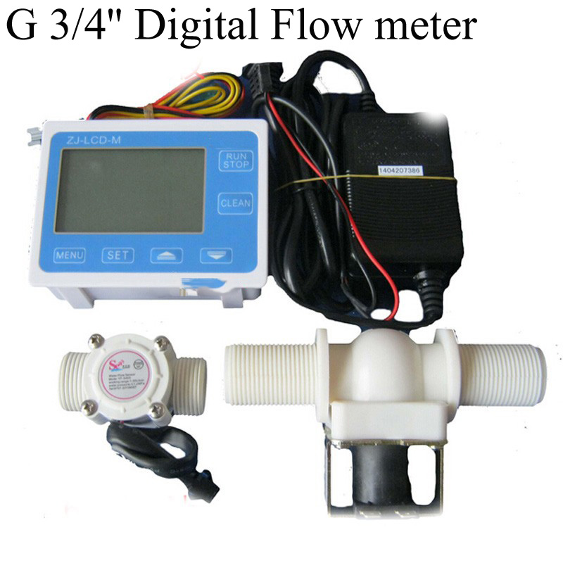 G 3/4'' Digital Flow meter Irrigation systems for the quantitative control device Filling Packing Machine turbine Flowmeter feasibility of fuzzy logic control for steam turbine systems