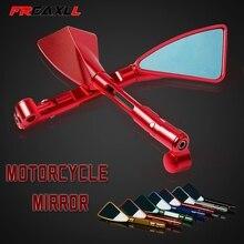 Universal Motorcycle Mirror Side Rearview Accessories FOR HONDA CB400 VTEC400 CB-1 MSX125 CB500 CB600 CB750 CB900