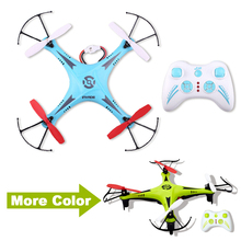 Quadrocopter Dron Green & Blue Drones Rc Helicopter 6 Axis 2.4G 4 Channels Quadrocopter Remote Control Toys Helicoptero
