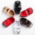 1 Pairs Nueva Moda Bebé Zapatos de Princesa Primeros Caminante de Algodón Barato Infant Toddler Baby Girls Suela Blanda Zapatos Mary Janes Vestido zapatos