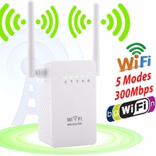 NEW Wireless WIFI Repeater Expander Boosters 802.11n/b/g Range Client AP Access Point WI-FI Router 110-240V Wall Plug
