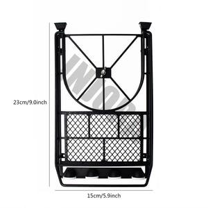Image 3 - INJORA металлический стеллаж для крыши, светодиодный светильник для 1:10 RC Рок Гусеничный осевой SCX10 и SCX10 II 90046 D90