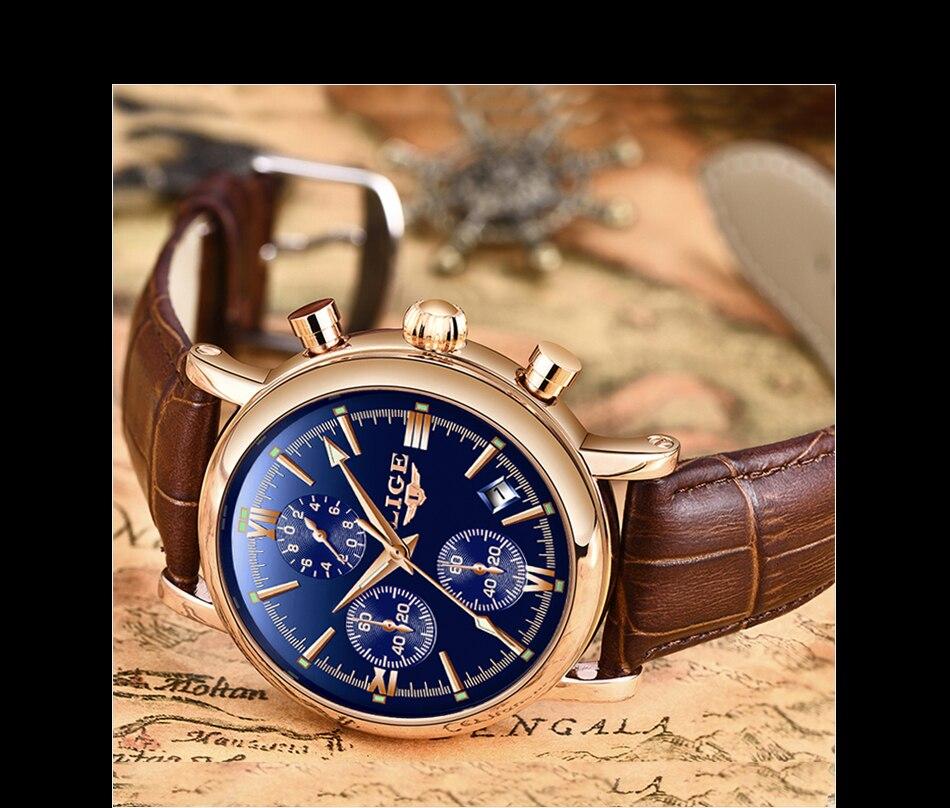 HTB1l3E.aO 1gK0jSZFqq6ApaXXav 2019 LIGE Business Leather Fashion Waterproof Quartz Watch For Mens Watches Top Brand Luxury Male Date Clock Relogio Masculino
