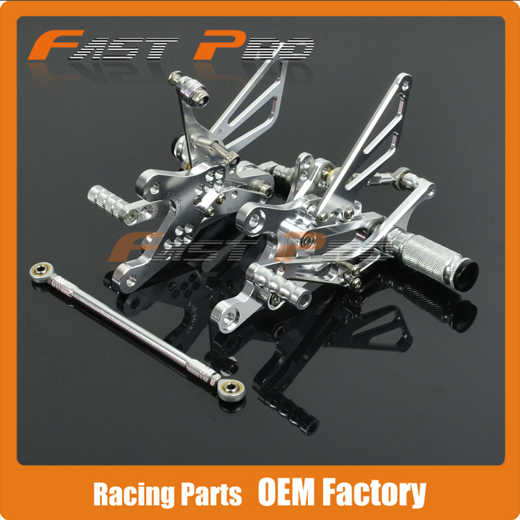 CNC Motorcycle Adjustable Billet Foot Pegs Pedals Rest For YAMAHA YZFR1 YZF-R1 YZF R1 2004 2005 2006 04 05 06 подсветка для картин odeon light benor 2531 2w