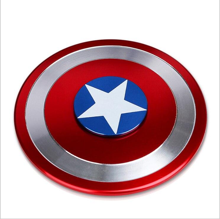 2017 Captain Of America Batman Handspinner Toy Fidget Spinner Hand Spinner EDC Ceramic Bearing Toy Funny