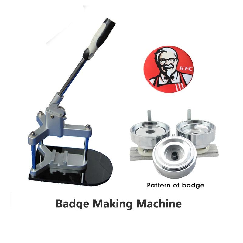 High quality Manual Metal badge/pin/medal making machine manual metal bending machine press brake for making metal model diy s n 20012