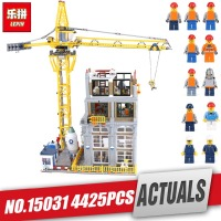 Lepin 15031 4425Pcs Genuine MOC Series The Classic Construction site Building Blocks Bricks legoing Toy Model as Christmas Gifts