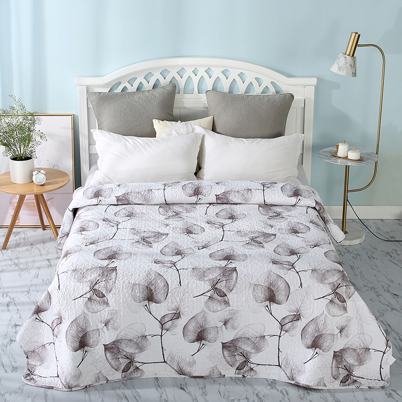 Fashion Summer Quilted thin Comforter quilt Bedspread Throws Blanket Quilting Blankets Plaids Cotton Polyester sw