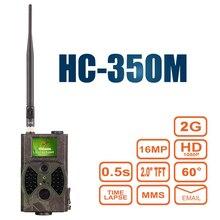 Jako wyrób suntek HC350M MP Aparat Polowania Szlak HC 300 M 0.5 s wyzwalania zdjęcie pułapka 1080 P Wideo Noktowizor MMS Podczerwieni GPRS Hunter Cam