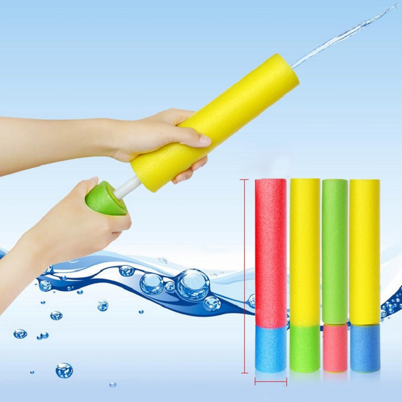 1 Pcs 2019 Quality Water Gun Kids Summer EVA Foam Squirt Beach Toys Spray Pistol Waterpistool  Children Outdoor Games Watergun(China)