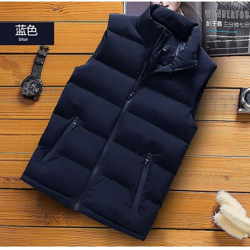 classic light men vest down korean streetwear clothing casual travel jackets male cloth vintage winter warm coat vests for men (14)