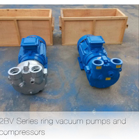 Stainless Steel 2BV2070 Liquid Ring Vacuum Pump Used for Degassing Industry
