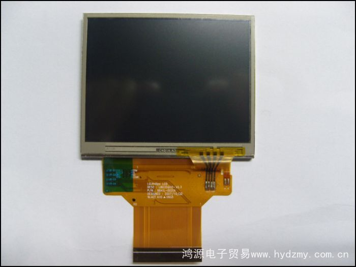 3.5 inch LB035Q02-TD01 with touch 60 and GPS MP4 video door screen