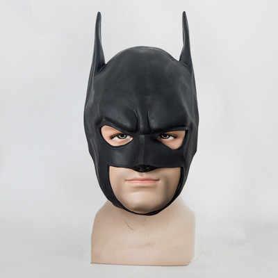 Маски для Хэллоуина шлем Бэтмен мультфильм шоу черная маска маски для вечеринки-маскарада Бэтмен лицо Костюм Карнавальная маска