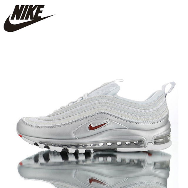 Official Original Nike Air Max 97 QS 2017 RELEASE Men's Running Shoes,Genuine Breathable Outdoor Sports Shoes