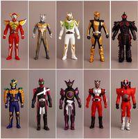 10Pcs Lot Original Masked Rider Kamen Rider Superman Monsters Alien PVC Doll Action Figure Collectible Model