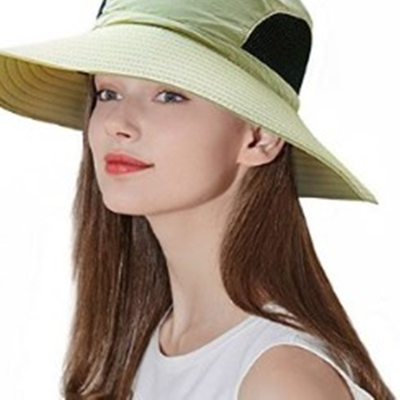 6c89501288439 Aliexpress.com   Buy 2018 Summer Fishing Hat Man Women Wide Brim Breathable  Mesh Beach Hats Sun Men  s Outdoors UV Protection Fishings Cap from  Reliable ...