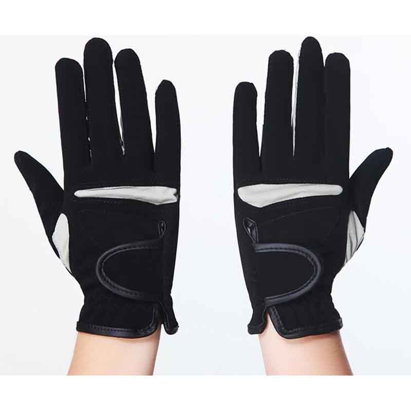 Horse Riding Gloves PU And Lycra Non-slip Elasticity Equitation Glove Breathable Sport Hipismo Gloves Horse Equipment