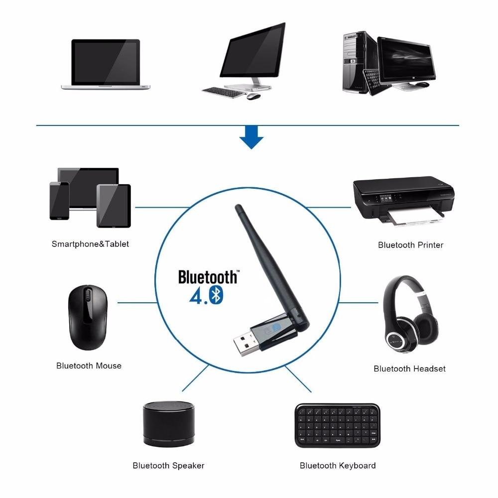 ZAPO Bluetooth 4.0 Wireless USB 802.11n Hinzufügen von 2,4 GHz 150 - Netzwerkausrüstung - Foto 5