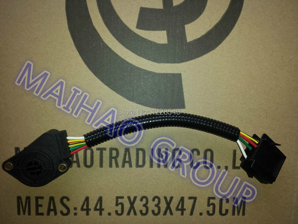 20504685 5 контактный Датчик положения дроссельной заслонки для VOLVO 5 проводов Высокое качество