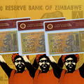 Gold Plated Zimbabwe One Hundred Trillion Dollars Gold Banknote Plated Gold With COA Fake Paper Money For Collection Gift