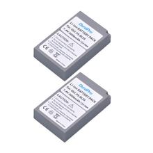 2pcs DuraPro BLS-5 BLS5 PS-BLS5 7.4V 1800mAh Li-ion Battery For OLYMPUS E450 E600 E620 EP1 EP2 EP3 EPL1 EPL2 EPL3 EPM2 EPL5 EPL6