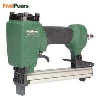 FivePears 1013J Pneumatic Nail Gun Air Stapler Gun Tool Brad Nail Gun U Style For