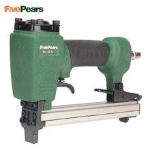 Пневматический пистолет для ногтей FivePears 1013J, пневматический степлер, пистолет для гвоздей, U образный пистолет для мебели, деревообработки дерева, дивана